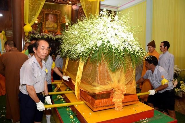 Lễ tưởng niệm, phụng tống kim quan Trưởng lão Hòa thượng Thích Thiện Duyên nhập tháp ảnh 18