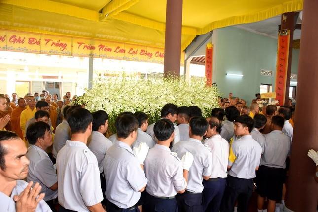 Lễ tưởng niệm, phụng tống kim quan Trưởng lão Hòa thượng Thích Thiện Duyên nhập tháp ảnh 19