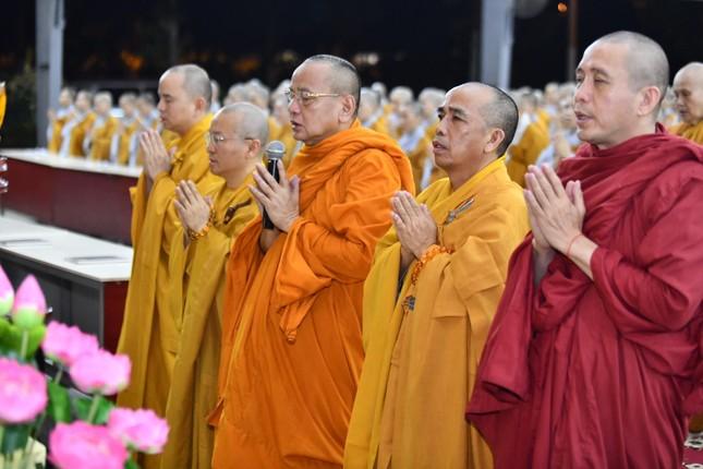 Học viện Phật giáo VN tại TP.HCM tưởng niệm cố Hòa thượng Giáo sư Satyapala ảnh 1