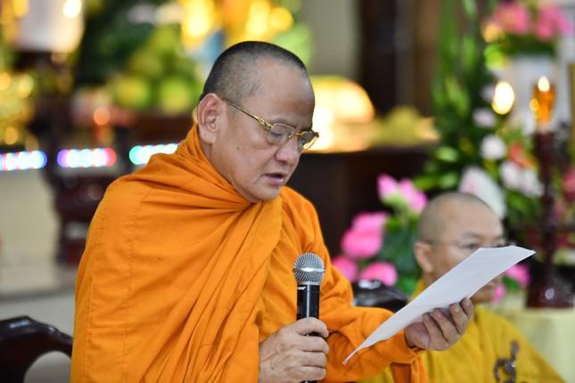 Học viện Phật giáo VN tại TP.HCM tưởng niệm cố Hòa thượng Giáo sư Satyapala ảnh 3