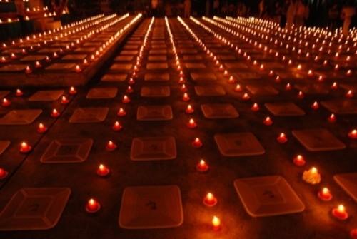 Đồng Nai: Sắc màu Hoa đăng nhân lễ vía Đức Phật A Di Đà tại chùa Phước Viên ảnh 1