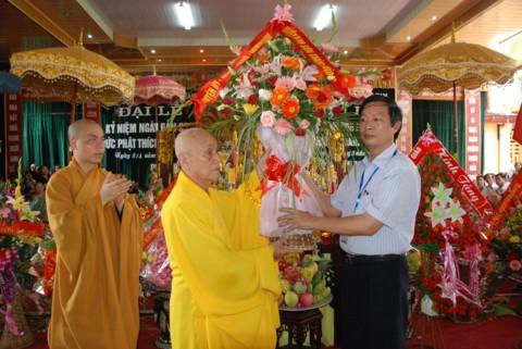 Ninh Bình: Đại lễ Phật đản và cung nghinh Xá lợi Phật về Tổ đình Kim Liên (chùa Đồng Đắc) ảnh 5