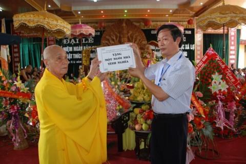 Ninh Bình: Đại lễ Phật đản và cung nghinh Xá lợi Phật về Tổ đình Kim Liên (chùa Đồng Đắc) ảnh 6