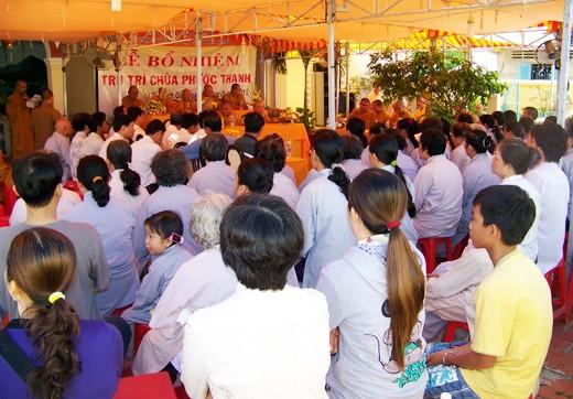 Kiên Giang: Bổ nhiệm ĐĐ. Thích Minh Thanh trụ trì chùa Phước Thạnh - TP. Rạch Giá ảnh 2