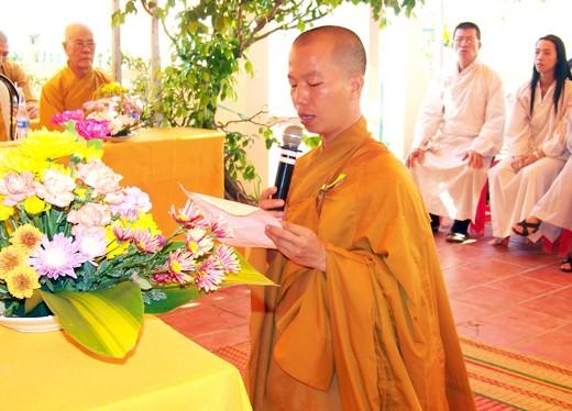 Kiên Giang: Bổ nhiệm ĐĐ. Thích Minh Thanh trụ trì chùa Phước Thạnh - TP. Rạch Giá ảnh 8