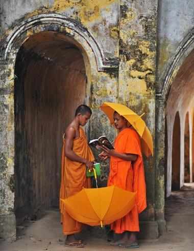 Độc đáo chùa Kompông Chrây ảnh 1