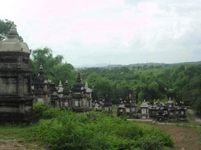 Ngôi chùa có vườn tháp lớn nhất Việt Nam ảnh 1