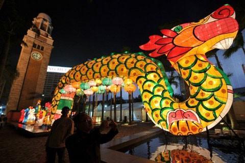 Hình ảnh con rồng nổi bật khắp châu Á ảnh 8