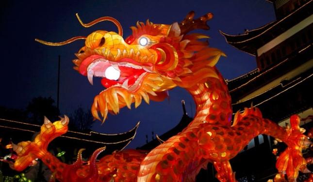 Tết năm rồng rộn ràng tại châu Á ảnh 5