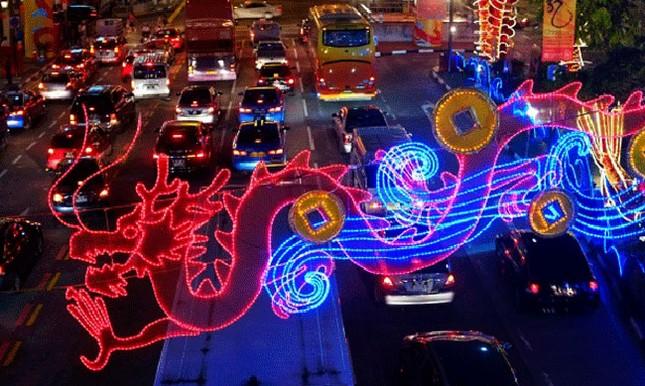 Tết năm rồng rộn ràng tại châu Á ảnh 8