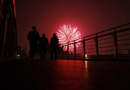 Người châu Á hân hoan đón mừng năm mới Nhâm Thìn-2012 ảnh 4