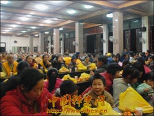 Trung Quốc: Lễ Thánh đản Đức Di Lặc và đón năm mới ảnh 8