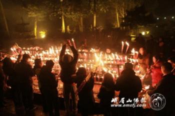 Trung Quốc: Lễ Thánh đản Đức Di Lặc và đón năm mới ảnh 14