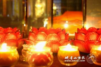 Trung Quốc: Lễ Thánh đản Đức Di Lặc và đón năm mới ảnh 20
