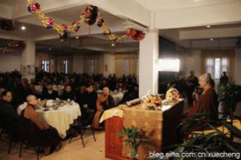 Trung Quốc: Lễ Thánh đản Đức Di Lặc và đón năm mới ảnh 35