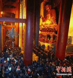 Trung Quốc: Lễ Thánh đản Đức Di Lặc và đón năm mới ảnh 45