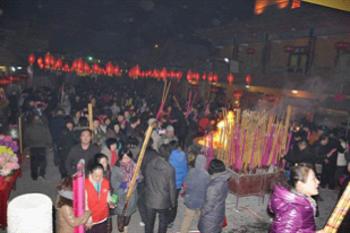 Trung Quốc: Lễ Thánh đản Đức Di Lặc và đón năm mới ảnh 49