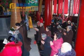 Trung Quốc: Lễ Thánh đản Đức Di Lặc và đón năm mới ảnh 51