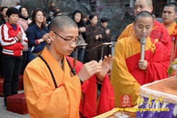 Trung Quốc: Lễ Thánh đản Đức Di Lặc và đón năm mới ảnh 72