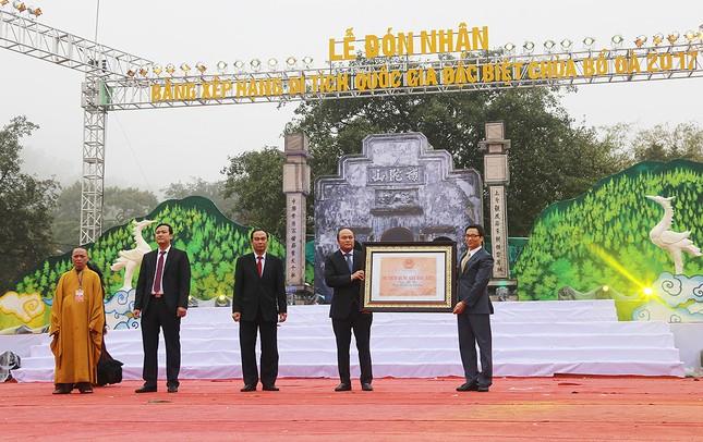 Công nhận chùa Bổ Đà là di tích quốc gia đặc biệt ảnh 3