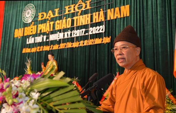 Đại hội Phật giáo tỉnh Hà Nam lần thứ V ảnh 3