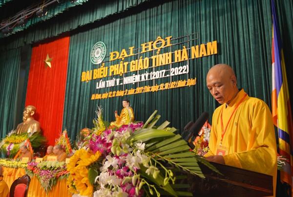 Đại hội Phật giáo tỉnh Hà Nam lần thứ V ảnh 4
