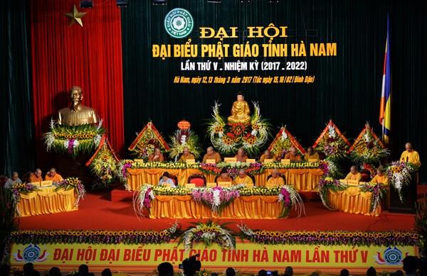 Đại hội Phật giáo tỉnh Hà Nam lần thứ V ảnh 1
