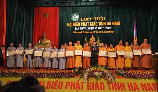 Đại hội Phật giáo tỉnh Hà Nam lần thứ V ảnh 8