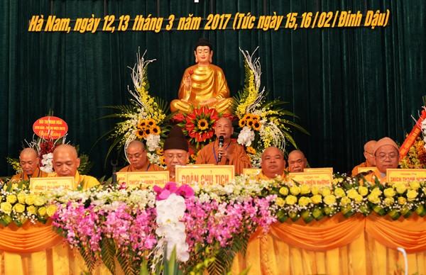 Đại hội Phật giáo tỉnh Hà Nam lần thứ V ảnh 6