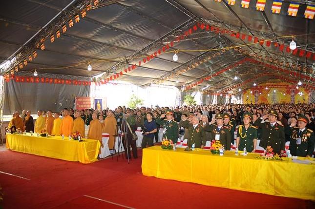 Điện Biên: Cầu siêu anh linh liệt sĩ tại chùa Linh Quang ảnh 2