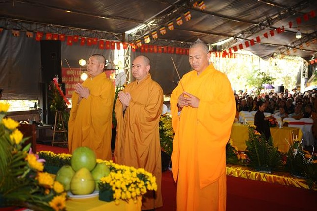 Điện Biên: Cầu siêu anh linh liệt sĩ tại chùa Linh Quang ảnh 3