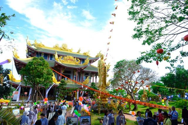 Đắk Lắk: Chùa Nam Thiên tổ chức lễ khánh thành ảnh 3