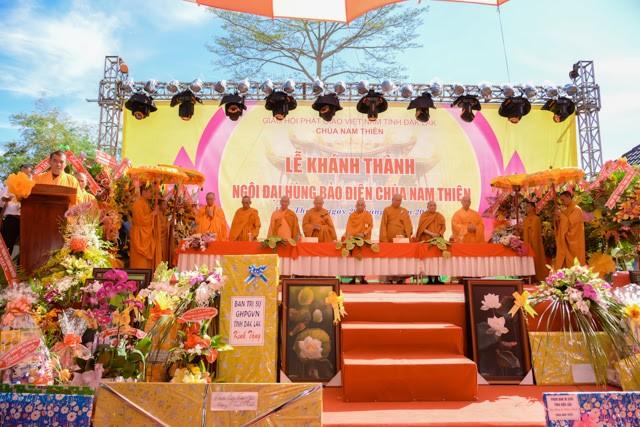Đắk Lắk: Chùa Nam Thiên tổ chức lễ khánh thành ảnh 1