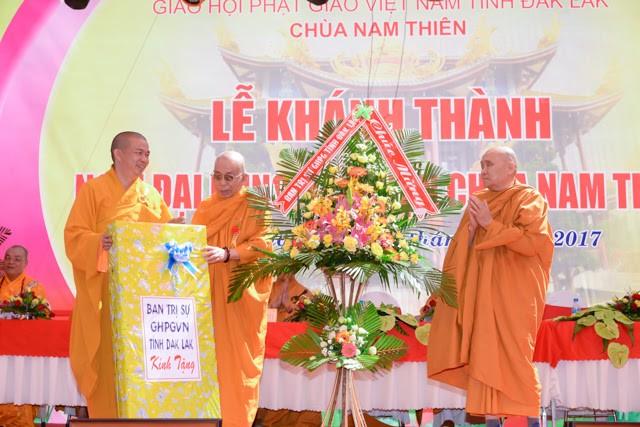 Đắk Lắk: Chùa Nam Thiên tổ chức lễ khánh thành ảnh 4