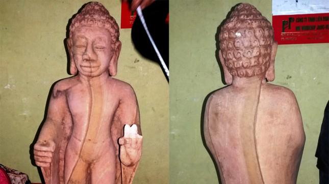 Tượng Phật phát lộ ở Huế có thể là đồ giả cổ