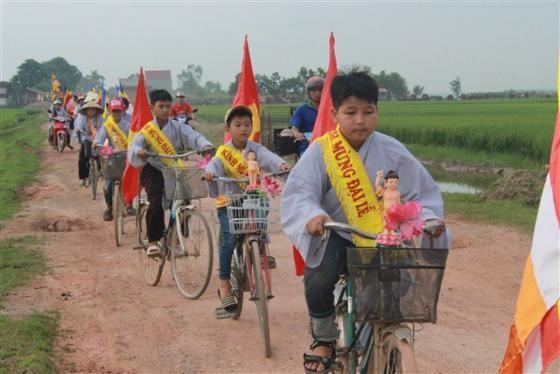 Phật giáo Triệu Sơn tưng bừng chào đón ngày Phật đản