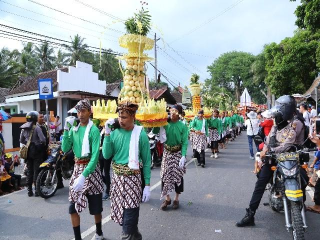 Chùm ảnh: Trang nghiêm rước Phật tại Indonesia ảnh 17