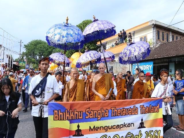 Chùm ảnh: Trang nghiêm rước Phật tại Indonesia ảnh 30