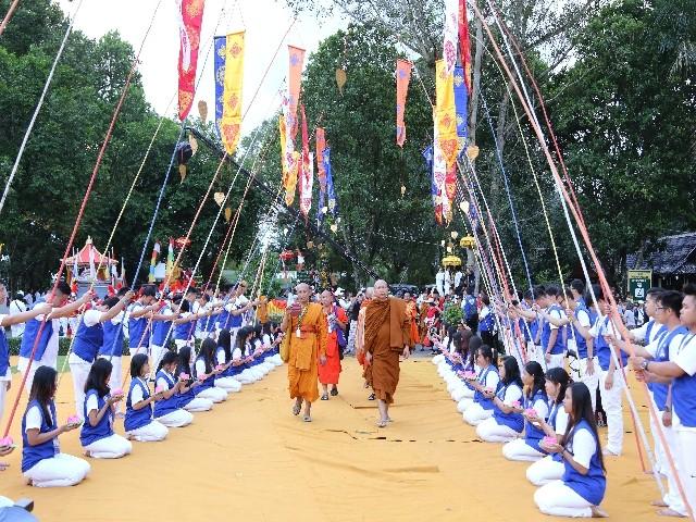 Chùm ảnh: Trang nghiêm rước Phật tại Indonesia ảnh 53