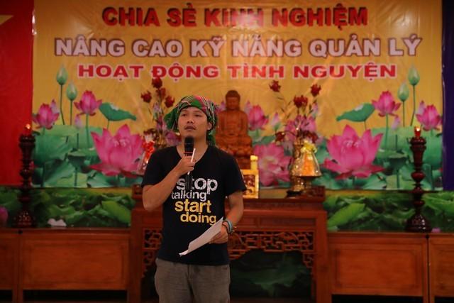 Các nhóm tình nguyện chia sẻ tại chùa Quán Sứ ảnh 6