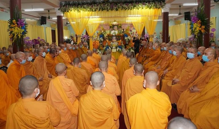 Lễ truy niệm Ni trưởng Tràng Liên tại tịnh xá Ngọc Phương