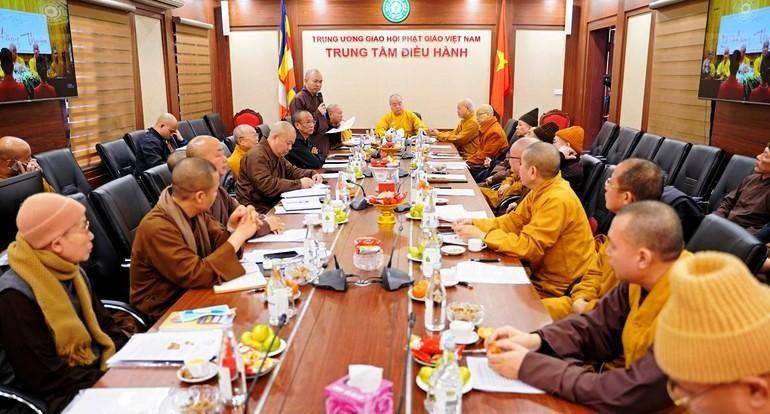 Hội nghị diễn ra ở Trung tâm điều hành, Văn phòng Trung ương GHPGVN, chùa Quán Sứ, Hà Nội