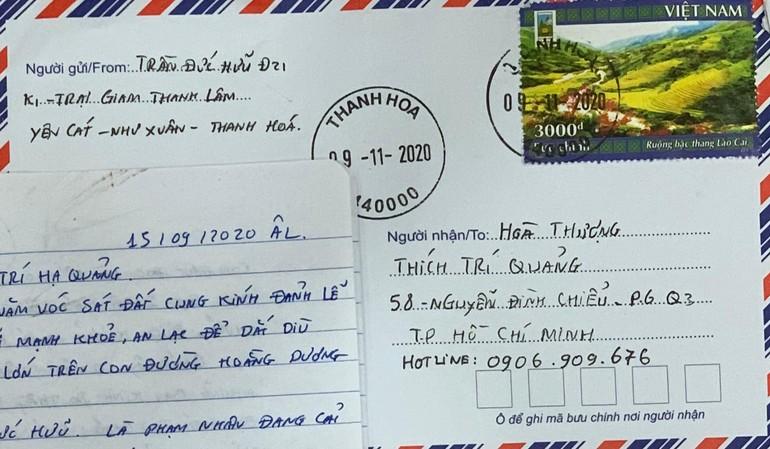 Bức thư của một bạn đọc gửi từ trại giam Thanh Lâm