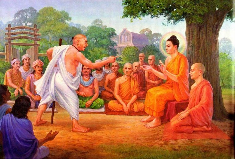 Đức Phật từ bi - Tranh Myanmar