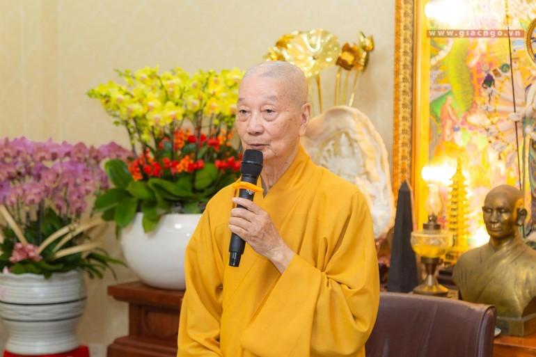 Trưởng lão Hòa thượng Thích Trí Quảng - Ảnh: Anh Quốc