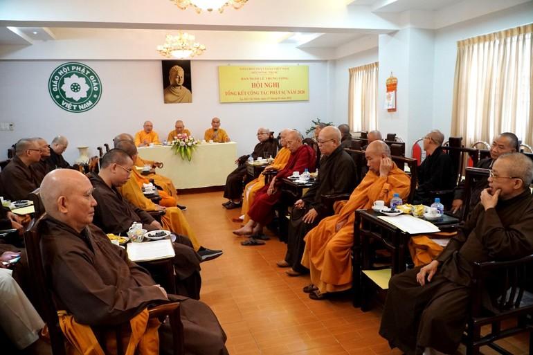 Quang cảnh hội nghị tổng kết của Ban Nghi lễ Trung ương GHPGVN
