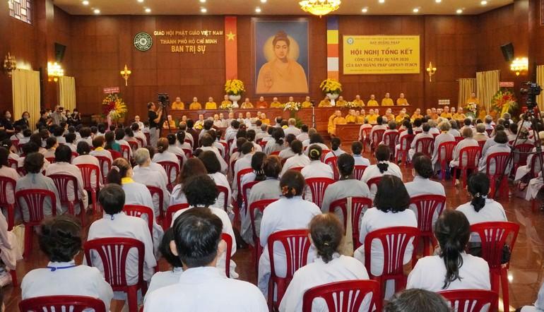 Quang cảnh hội nghị tại Việt Nam Quốc Tự