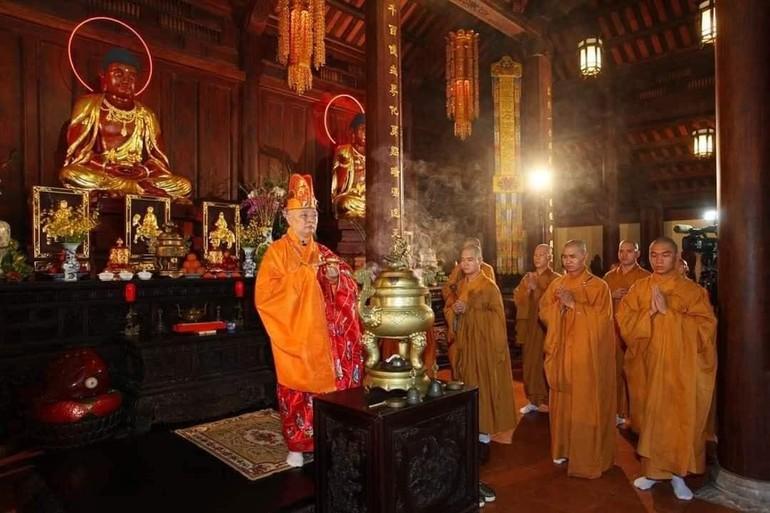 Hòa thượng Thích Lệ Trang, Phó ban Trị sự kiêm Trưởng ban Nghi lễ GHPGVN TP.HCM