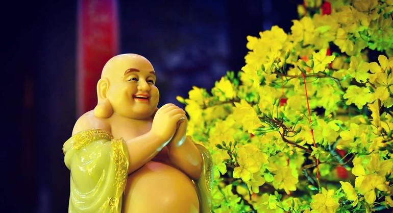 Hãy hướng về mùa xuân Di Lặc với cảm nhận về hạnh phúc trong Tứ vô lượng tâm - Ảnh: chùa Giác Ngộ