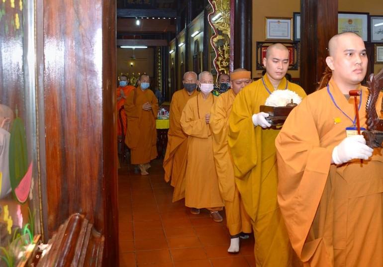 Chư tôn giáo phẩm lãnh đạo Trung ương GHPGVN và Ban Trị sự TP.HCM quang lâm tưởng niệm